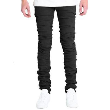 ONETOW Embellish NYC Cano Jeans In Black