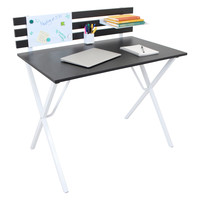 Organizer Desk, Black/White