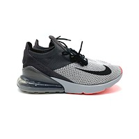 Nike Air Max 270 Flyknit Atmosphere Grey Thunder Grey Running Shoes