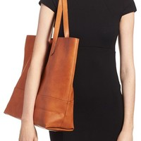 Sole Society Oversize Faux Leather Shopper | Nordstrom