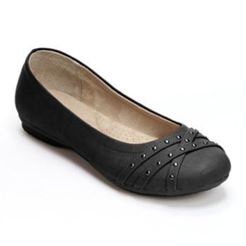 SONOMA life + style® Studded Wide Ballet Flats - Women