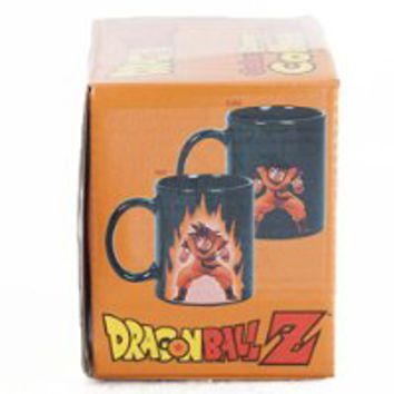 Collectible Dragon Ball Z Color Changing Coffee Mug Heat Reactive
