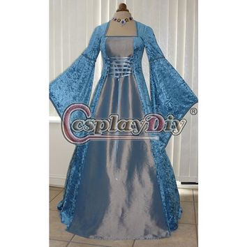 Renaissance Medieval Wedding Dress Ball Gowns Custom Made