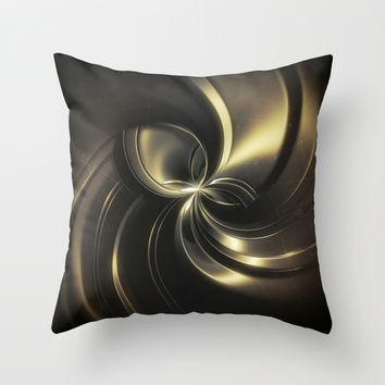 Galaxy Throw Pillow by Cinema4design