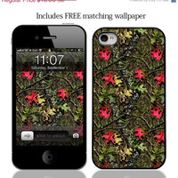 ON SALE Camo camouflage Case for iPhone 4 iPhone 4s by JWCDesignz