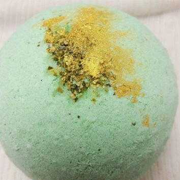 Vegan Bath Bomb ~ Mermaid Bath Fizzie ~ Scented Coconut Bath Bomb ~ Vegan Beauty