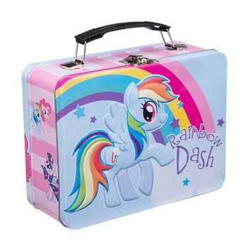 Vandor 42170 My Little Pony Rainbow Dash Large Tin Tote, Multicolor