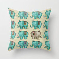 Dreamy Ellie Throw Pillow by Carina Povarchik | Society6