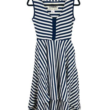 Oceangoing Striped Dress