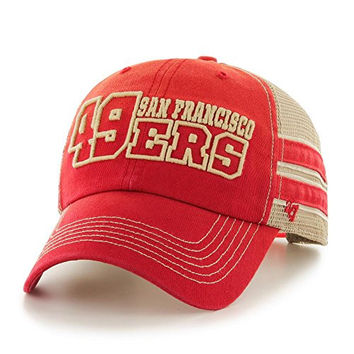 1c7164fe08d8c 47 Brand San Francisco 49ers Hat Huron Clean Up Snapback