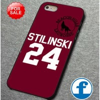 Teen Wolf Stilinski Lacrosse Jerse  for iphone, ipod, samsung galaxy, HTC and Nexus PHONE CASE