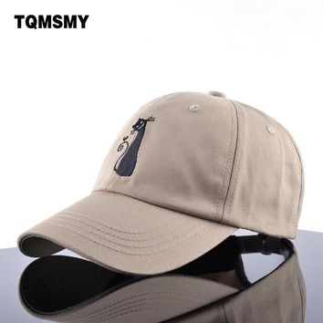 TQMSMY spring bone women cotton snapback cap  embroidered Cat hats for grils Brand baseball cap casual hip hop hat ladys gorras