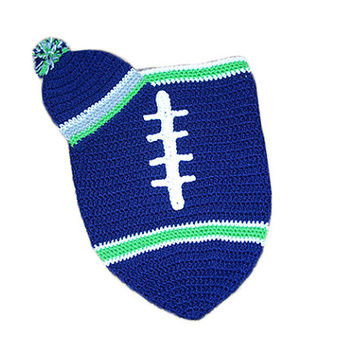Shop Newborn Football Hat On Wanelo