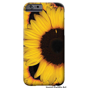 Sunflower, iPhone 6 Case, iPhone 5 Case, Floral, Art, sunflowers,  iPhone cases, by Ingrid, iPhone 5S case, iPhone 6 Plus Case