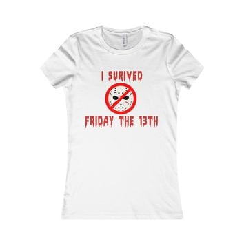 I Survived Friday The 13th T-Shirt