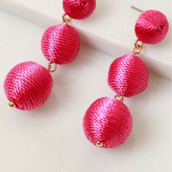 Having A Ball Earring Pink