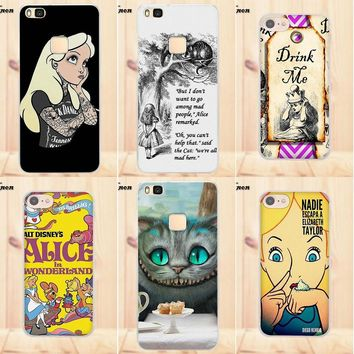 Maerknon Soft Fashion Cell Case For Apple iPhone 4 4S 5 5C SE 6 6S 7 8 Plus X For LG G4 G5 G6 K4 K7 K8 K10 Alice In Wonderland