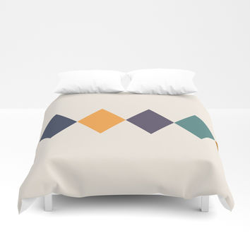 Shine Bright Like A Diamond Duvet Cover by spaceandlines