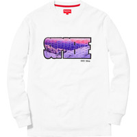 Supreme: Summit L/S Top - White