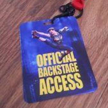 Disneys Newsies The Broadway Musical Backstage Pass