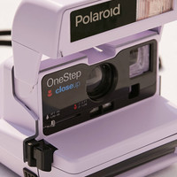 Impossible X UO Refurbished Lavender Close-Up Polaroid 600 Instant Camera | Urban Outfitters