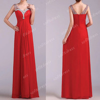 red prom dresses, affordable prom dress, off shoulder prom dress, v neck prom dresses, red bridesmaid dress, evening dresses, BE0510