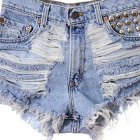 Baby high waisted shorts