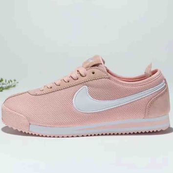 NIKE CORTEZ 72 SI classic retro Agan breathable running shoes F-MLDWX pink