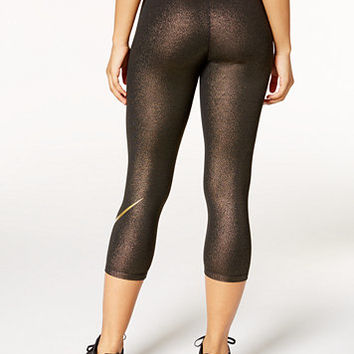Nike Pro Cool Gold Capri Leggings | macys.com