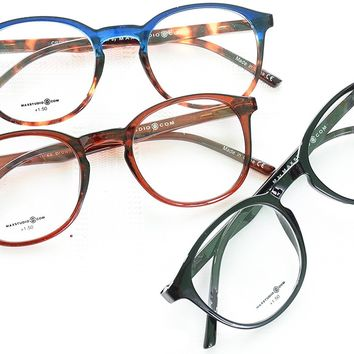 Max Edition Nerd Geek Reading Glasses 3 Pack +1.50