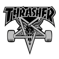 Thrasher Magazine Shop - Skategoat Sticker
