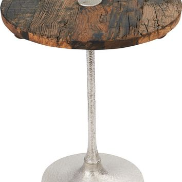 Rustic Contemporary Accent Table