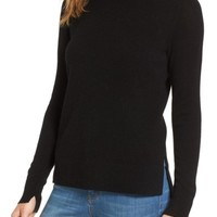 Halogen® Crewneck Cashmere Sweater (Regular & Petite) | Nordstrom