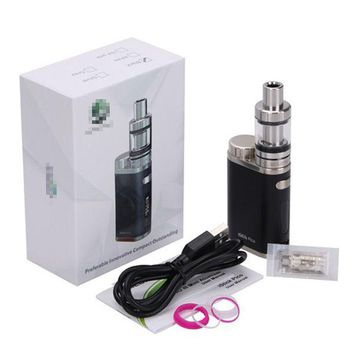 Hot Mini 75W Temperature Control Electronic Vapo Kit High Tobacco Smoke Black