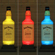 Jack Daniels Tennessee Honey Whiskey Color Changing LED Remote Controlled Eco Friendly LED Bottle Lamp/Bar Light - Bodacious Bottles-