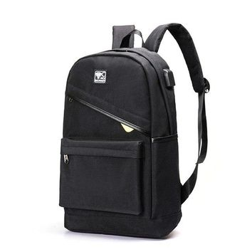 University College Backpack Student   Anti-theft USB Charging Men Bag Travel  For Teenagers Multifunction Labtop sAT_63_4