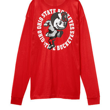 The Ohio State University Long Sleeve Campus Tee - PINK - Victoria's Secret