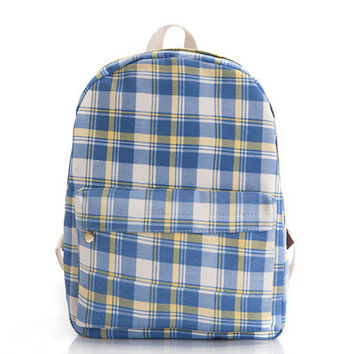 Lovely Cute Canvas Korean Backpack = 4888035396