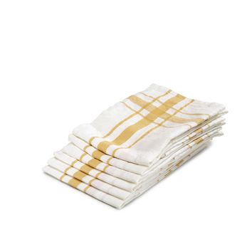 Camaret Tea-Towel by Libeco | Gold