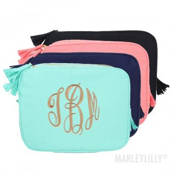 Monogrammed Toiletry Bag | Marleylilly
