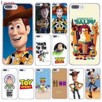 Lavaza Toy Story Hard Coque Shell Phone Case for Apple iPhone 8 7 6 6S Plus X 10 5 5S SE 5C 4 4S Cover