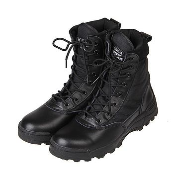 Mens Combat Tactical Boots O1480