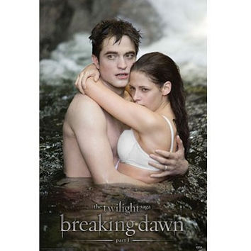 Breaking Dawn - Water Embrace Movie Poster RP0442 22x34 Twilight Saga