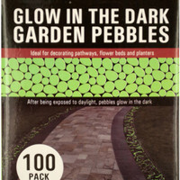 Glow in the Dark Garden Pebbles Case Pack 3