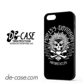 Harley Davidson Skull DEAL-5054 Apple Phonecase Cover For Iphone 5 / Iphone 5S