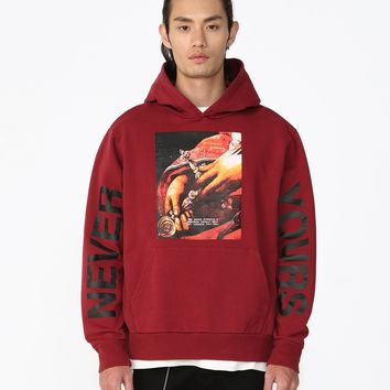 Never Yours Graphic Hoodie
