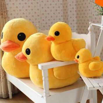 50cm l Stuffed Dolls Rubber Duck Hongkong Big Yellow Duck Plush Toys Hot Sale Best Gift