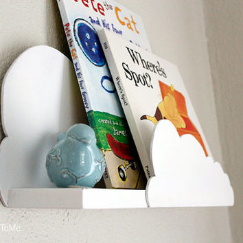 Set of two | Whimsical Cloud Shelf for nursery / baby