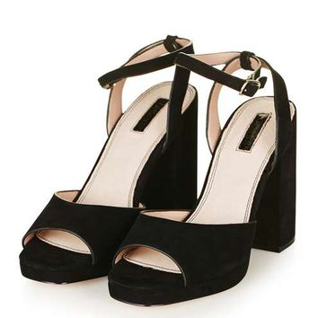 LORNA Platform Sandals - Shoes