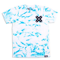 X Diamond Dye Tee / Blue